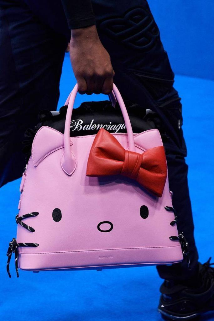 Balenciaga Hello Kitty Beg Tangan Untuk Lelaki