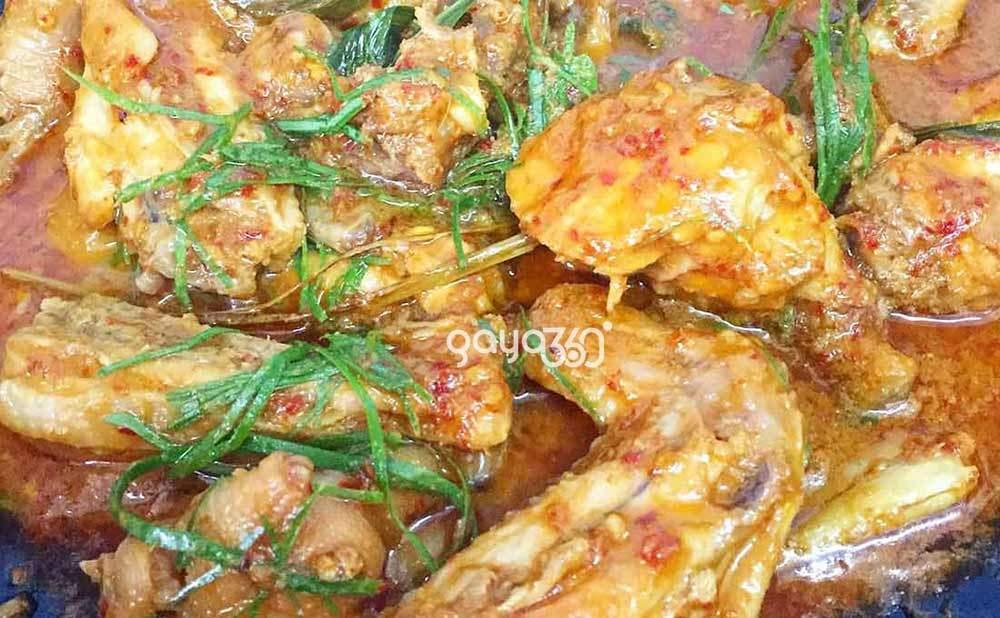 Rendang Ayam Senang, Sedap & Cepat